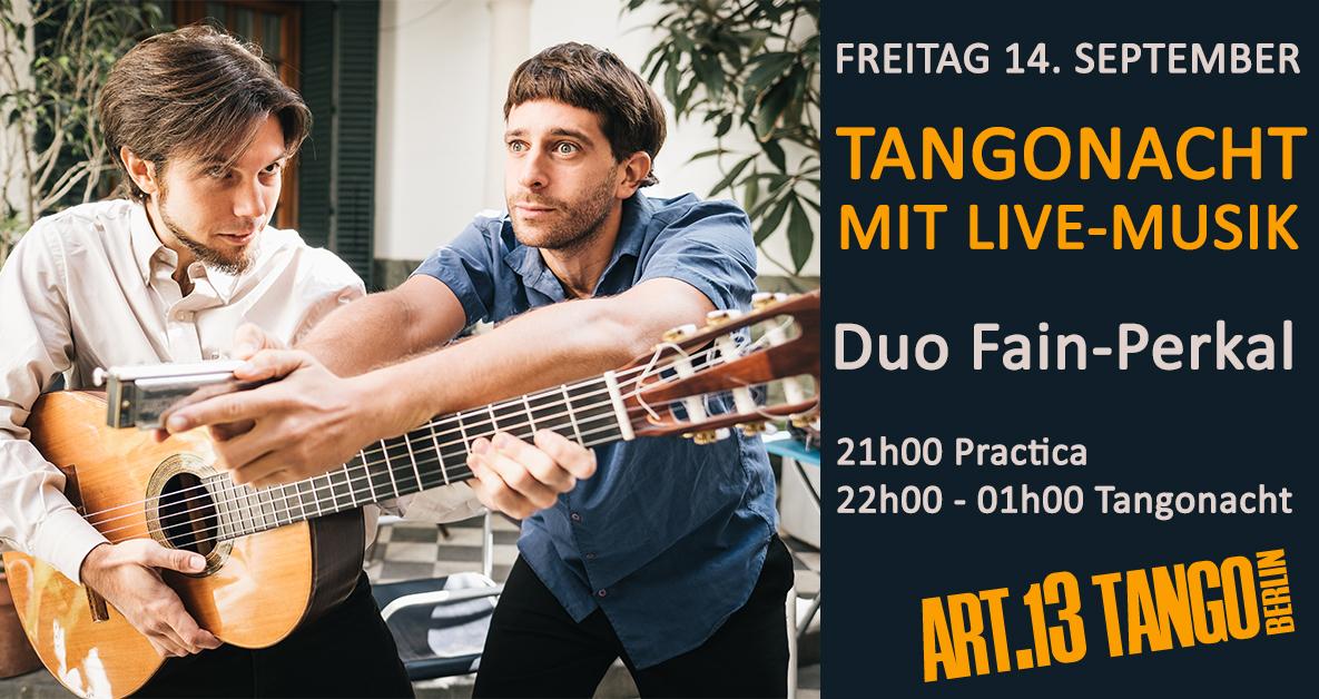 Special Milonga | Live Duo Fain-Perkal