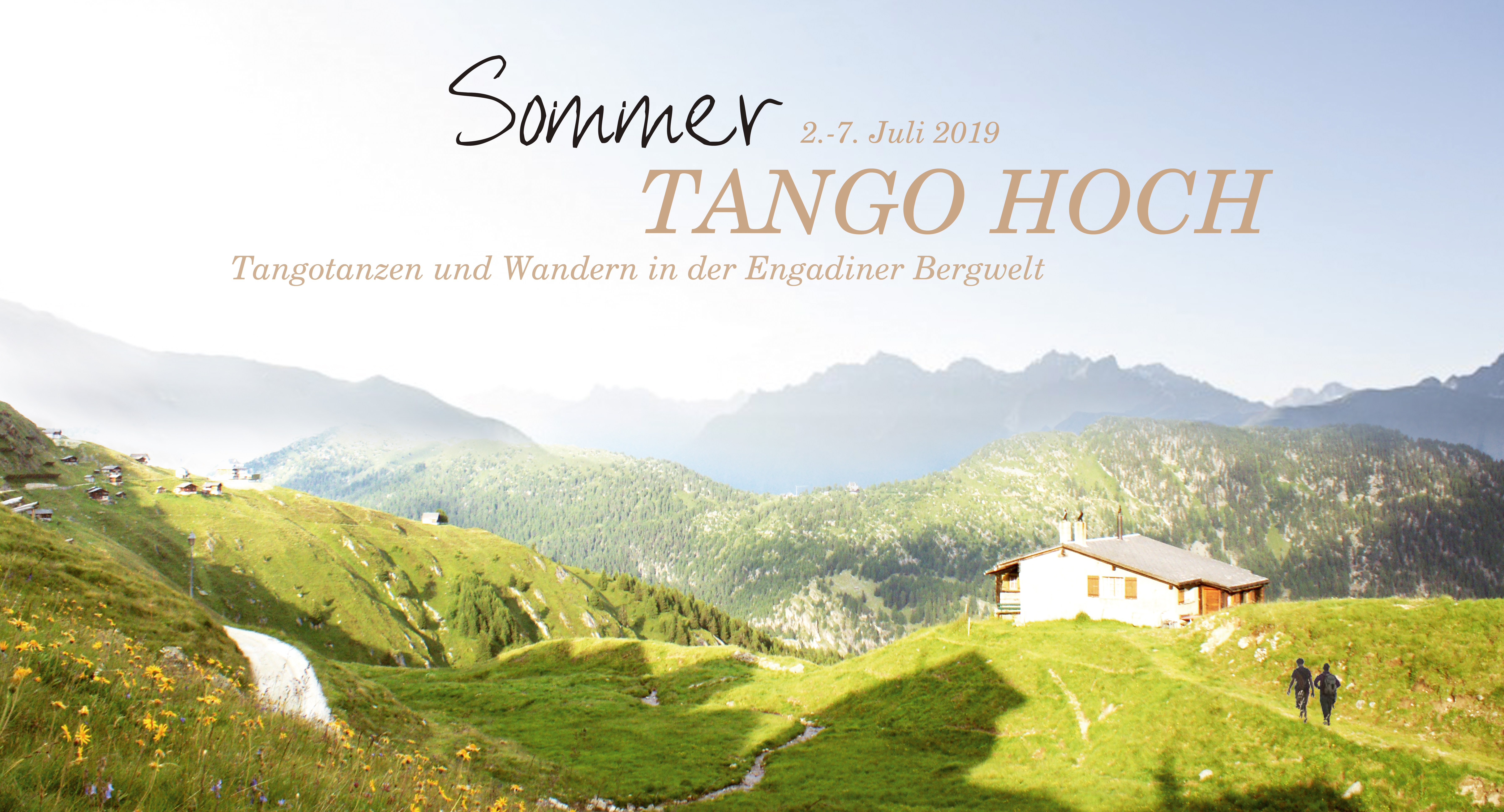 Sommer Tango hoch im Engadin