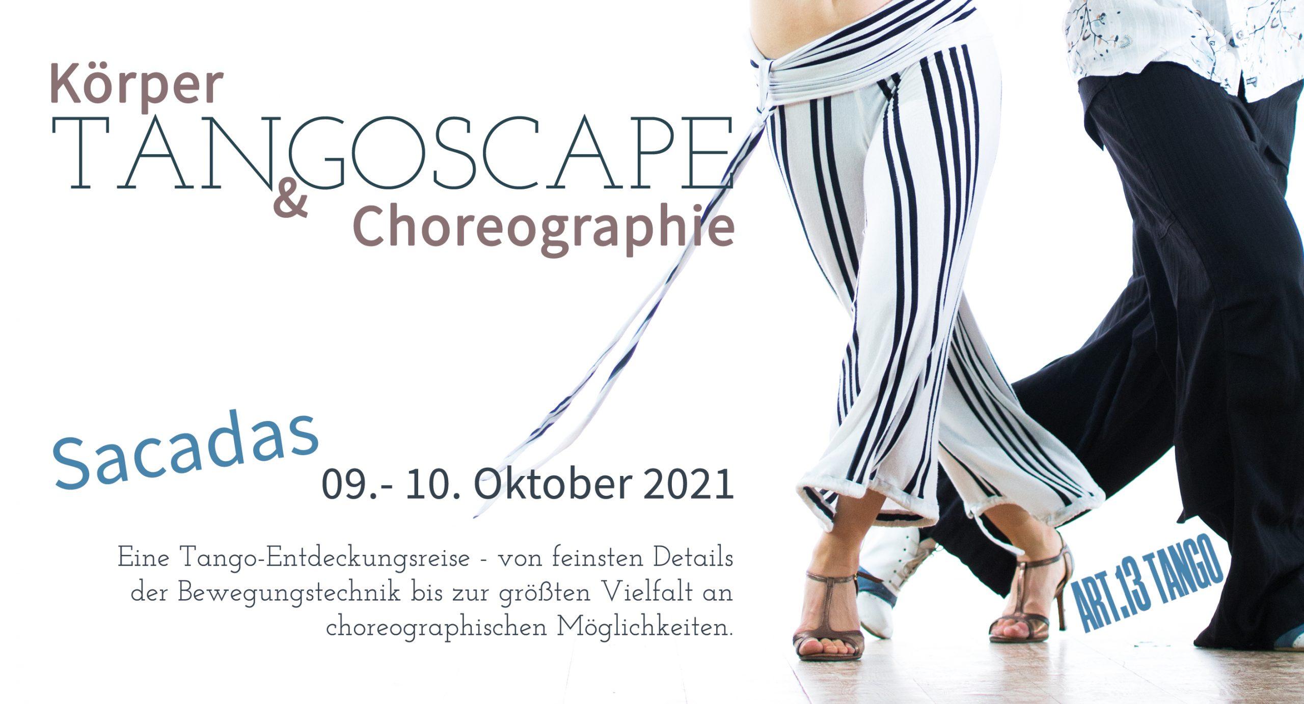 TANGOSCAPE: Körper & Choreographie   Sacadas   Workshop im LA BERLINESA